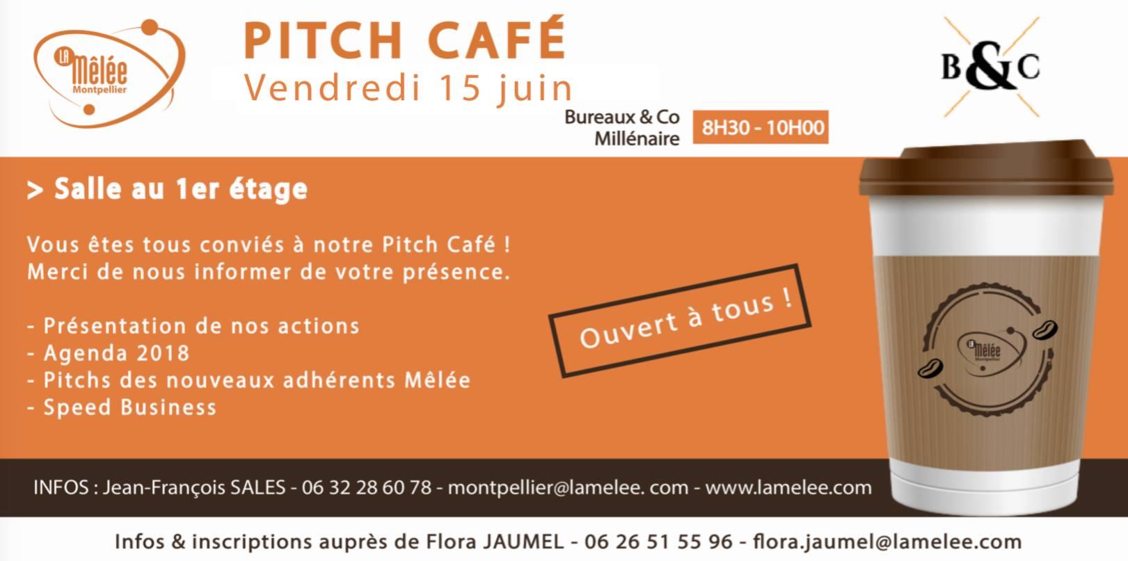 Pitch Café du 15 juin-Mêlée Montpellier