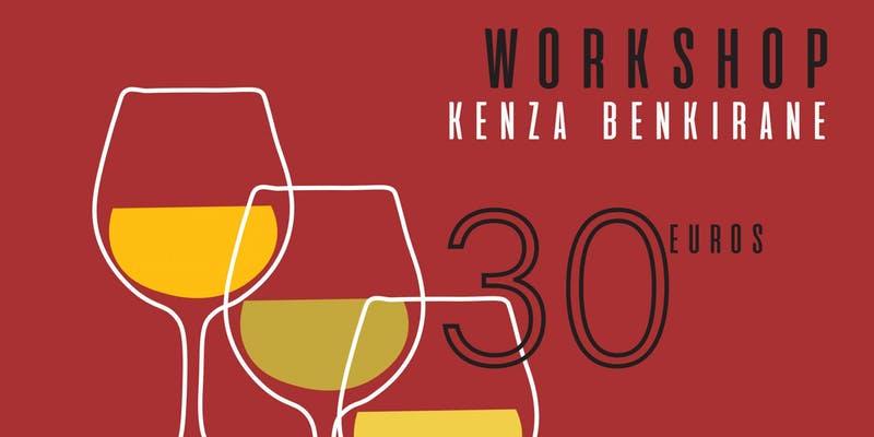 Dégustation des vins blancs avec Kenza benkirane